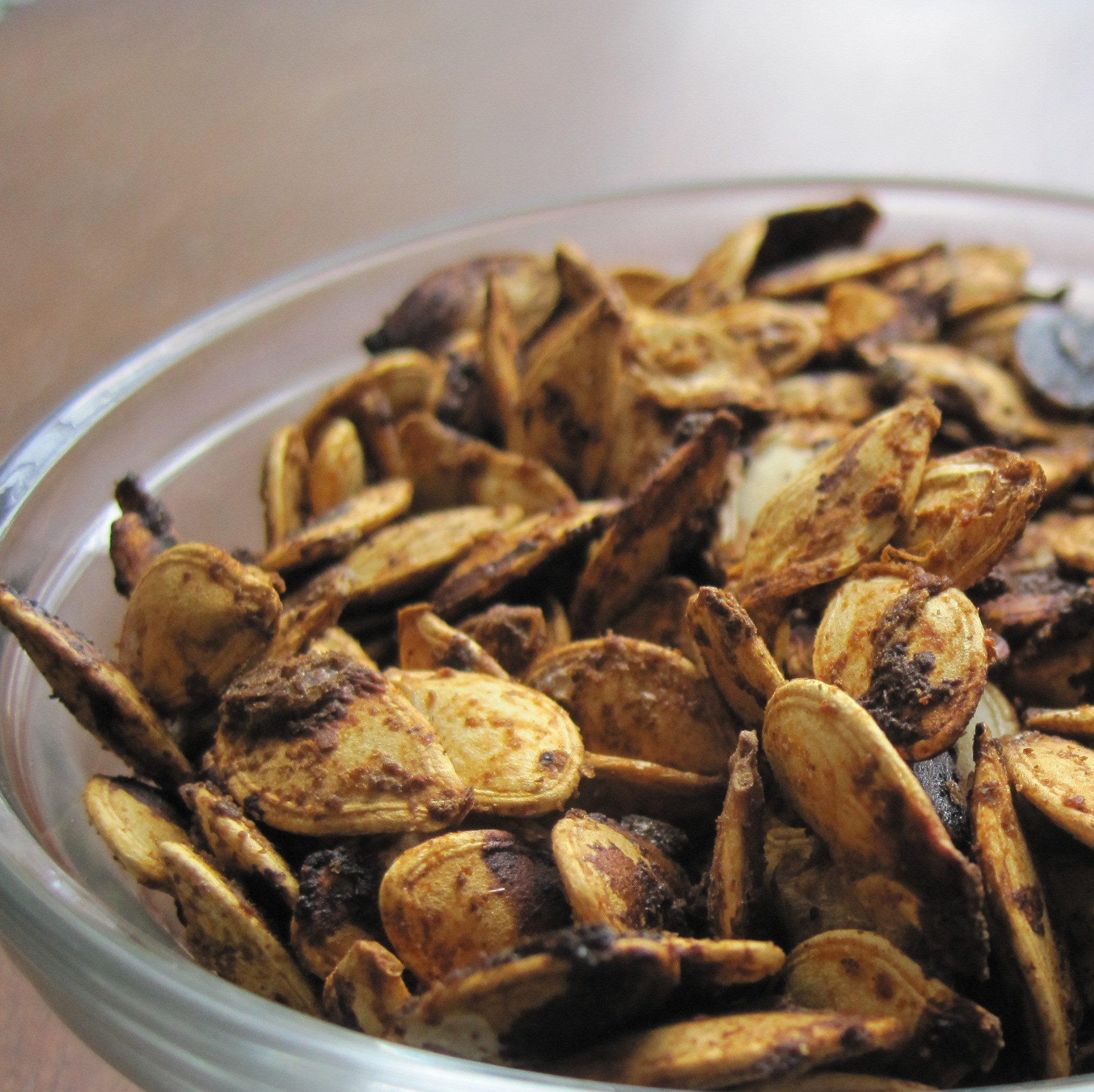 Chili Lime Roasted Pumpkin Seeds | The Austin Gastronomist