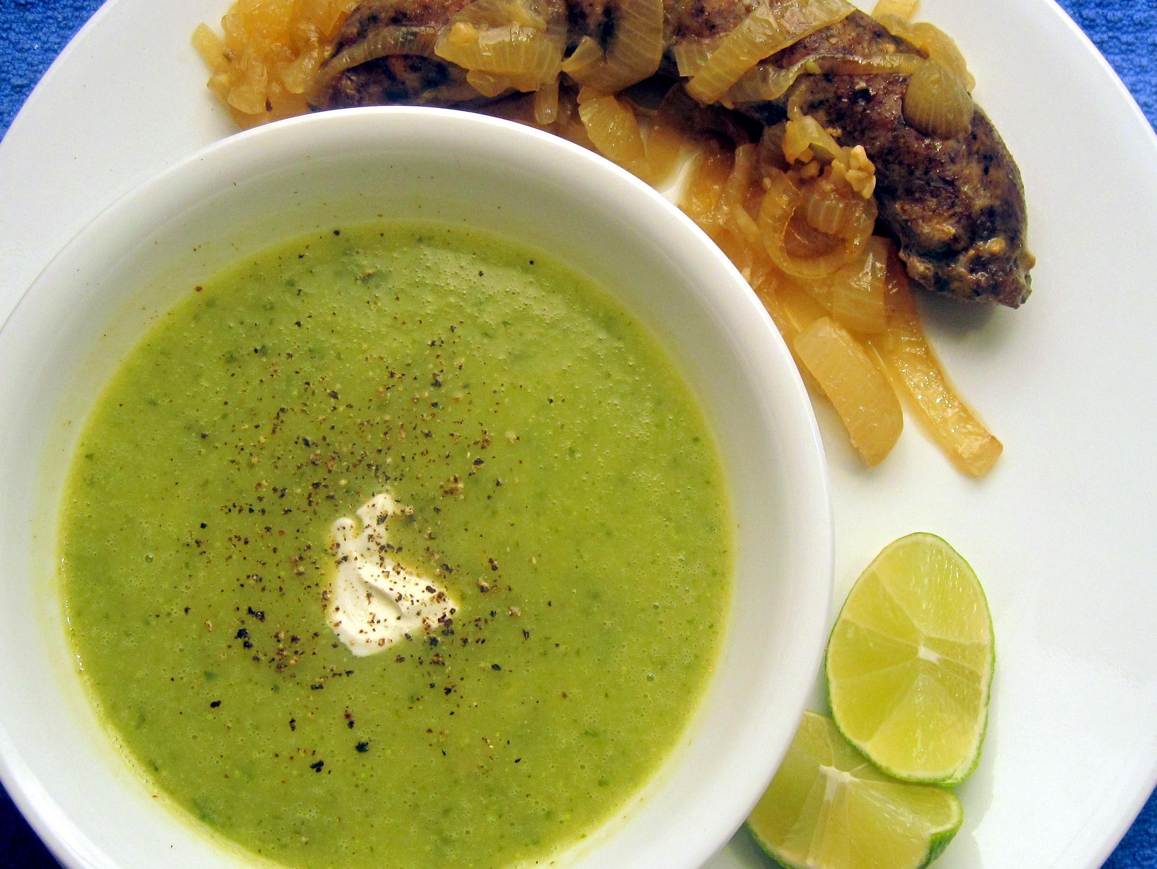 Creamy Summer Squash Soup | The Austin Gastronomist