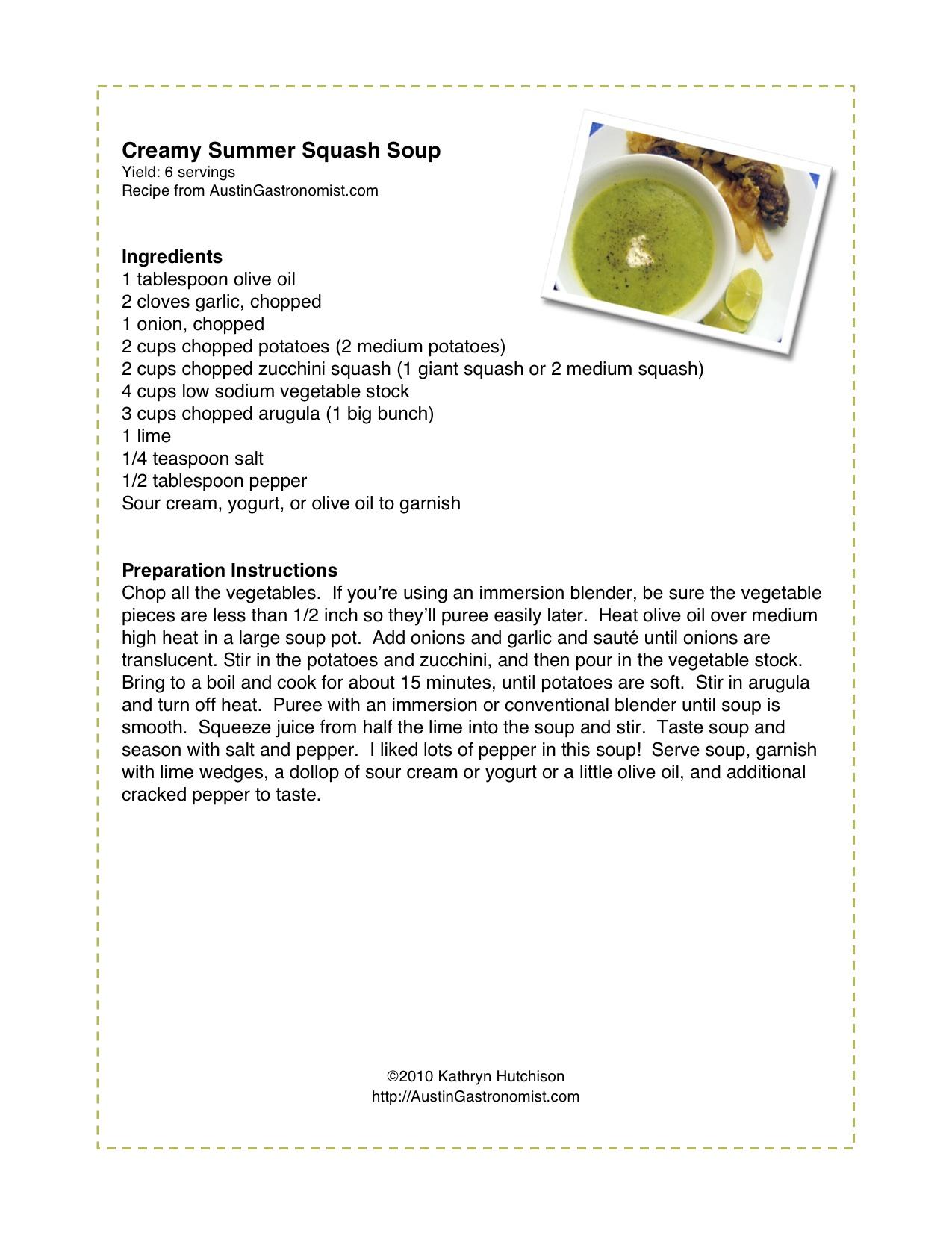 Top 10 of 2010, Plus Printable Recipes! | The Austin Gastronomist